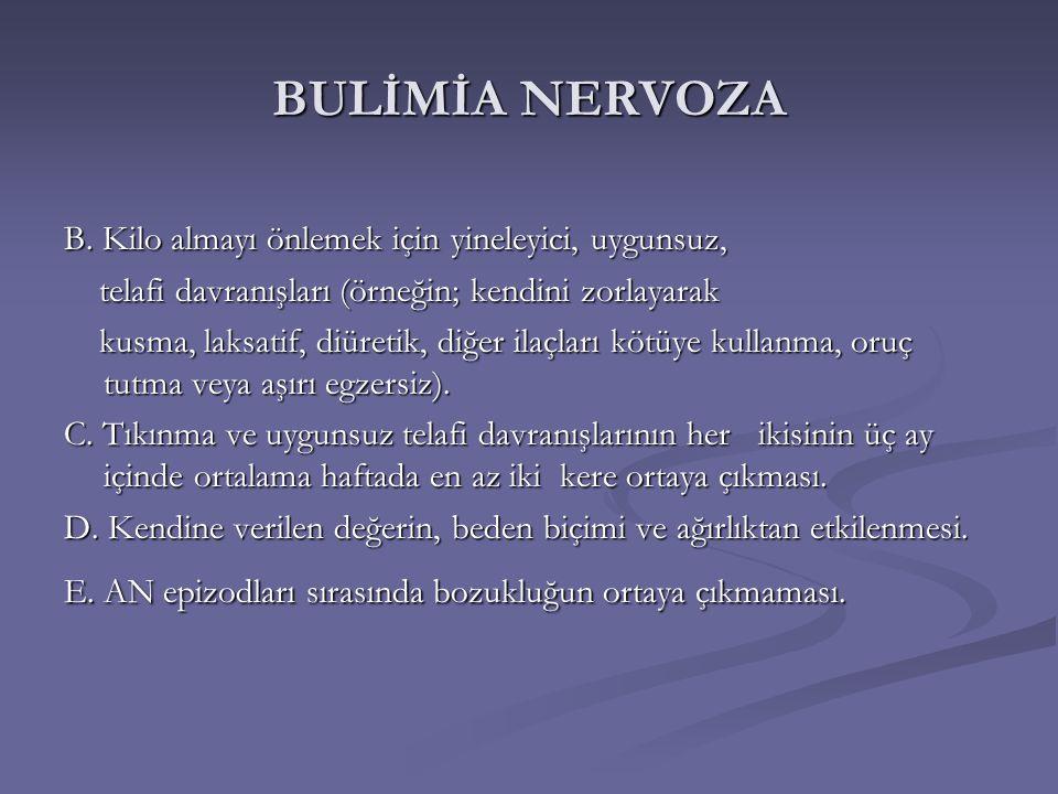 BULİMİA NERVOZA B.