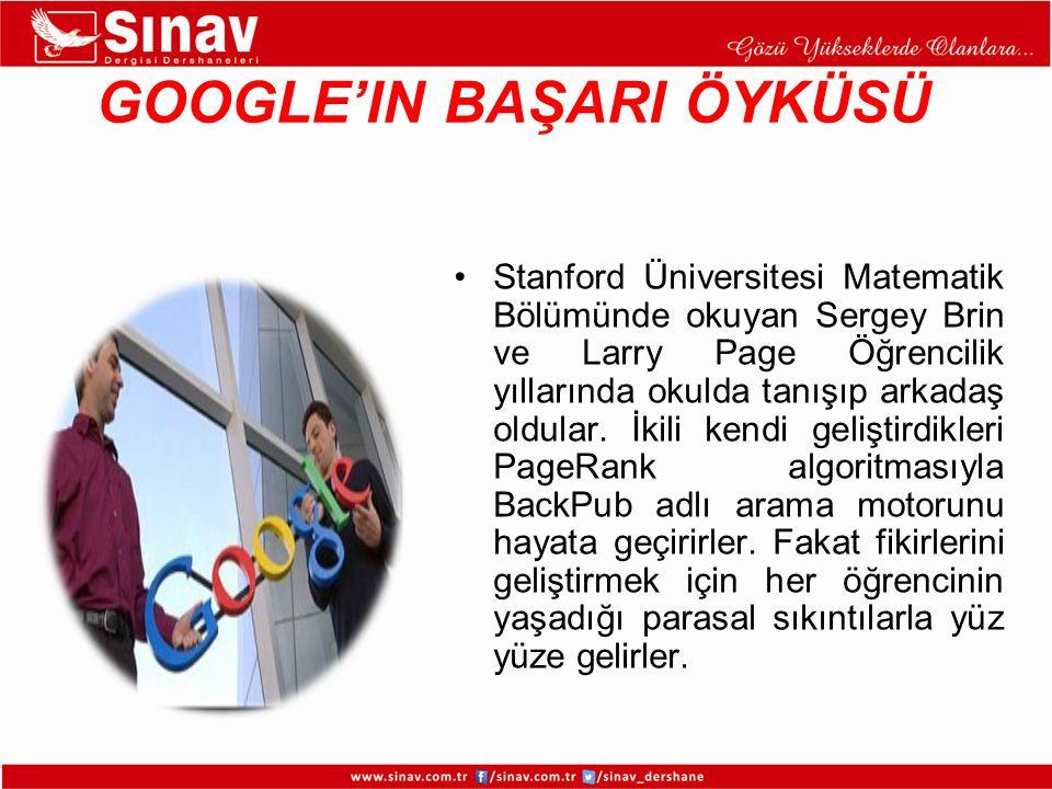 1998 yılının ilk yarısında ucuz terabayt boyutundaki diskleri alarak Google.com'un ilk veri merkezini Larry'nin yurt odasında kurarlar.