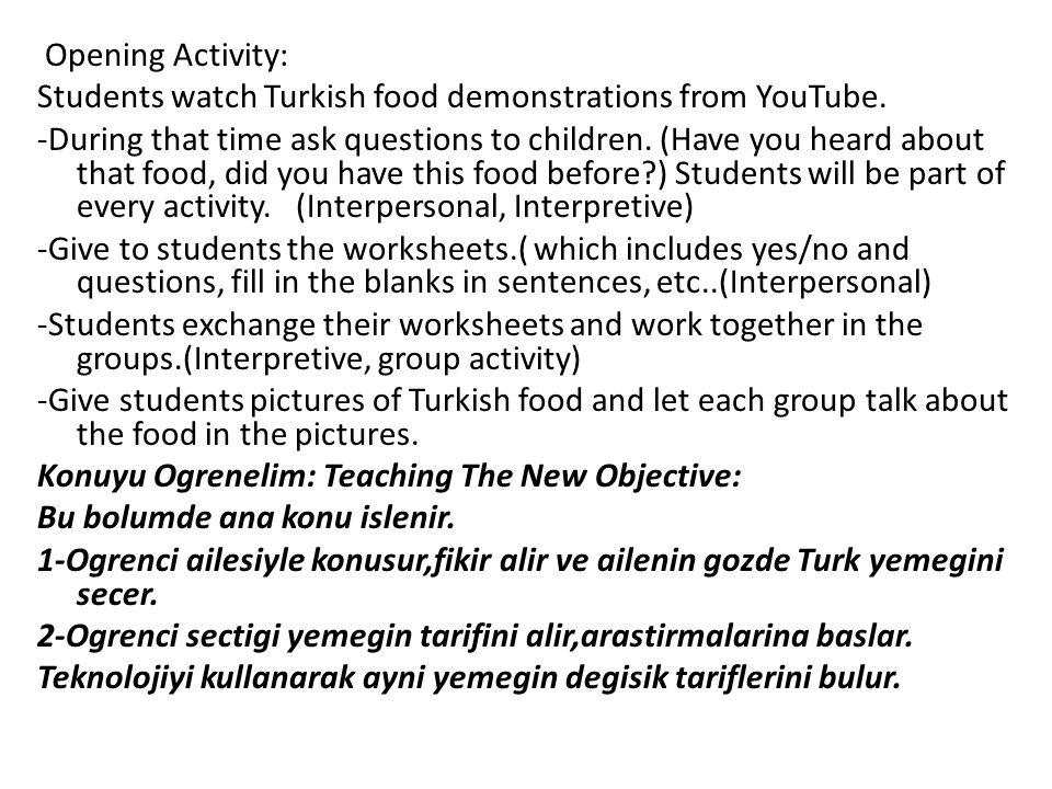 Hangi yorelerde nasil pisiriliyor,farklilik nerden geliyor?(cografi,tarihsel,iklime bagli?) Turkiye'de yemek tariflerinde kullanilan olcu birimleri,degisik arac gerec, mutfak malzemelerini ogrenecek.