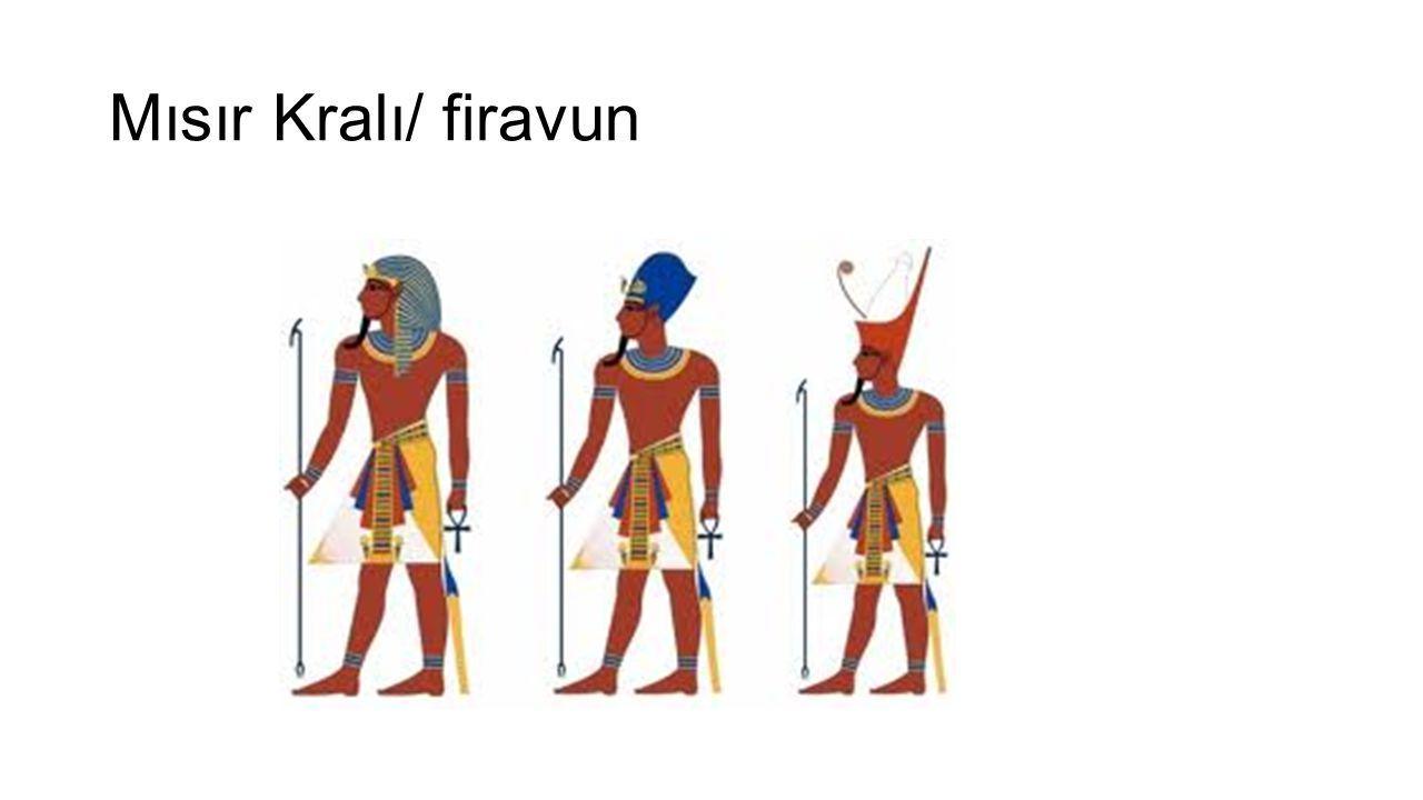 Mısır Kralı/ firavun