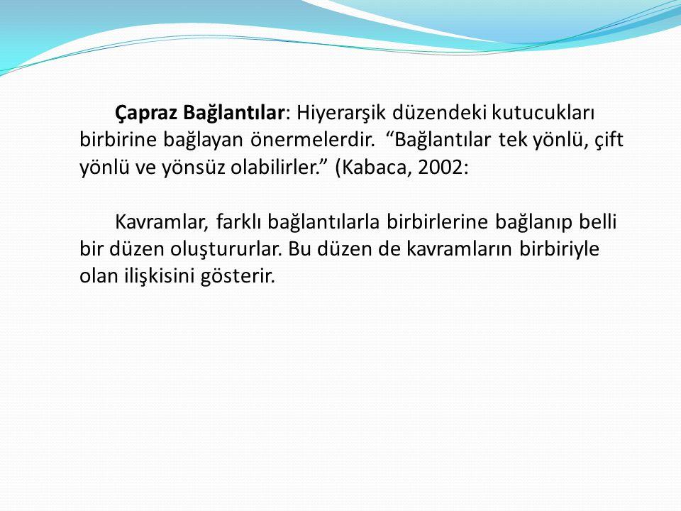 KAVRAM HARİTASININ İŞLEVLERİ 1.Görselleştirme 2. İlişkilendirme 3.