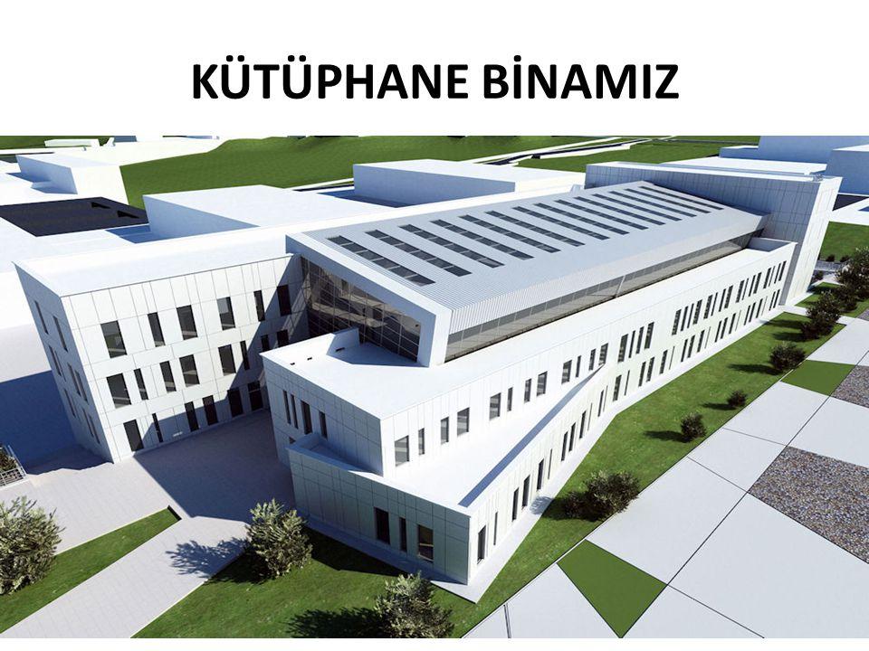 KÜTÜPHANE BİNAMIZ