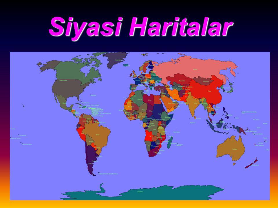 Siyasi Haritalar