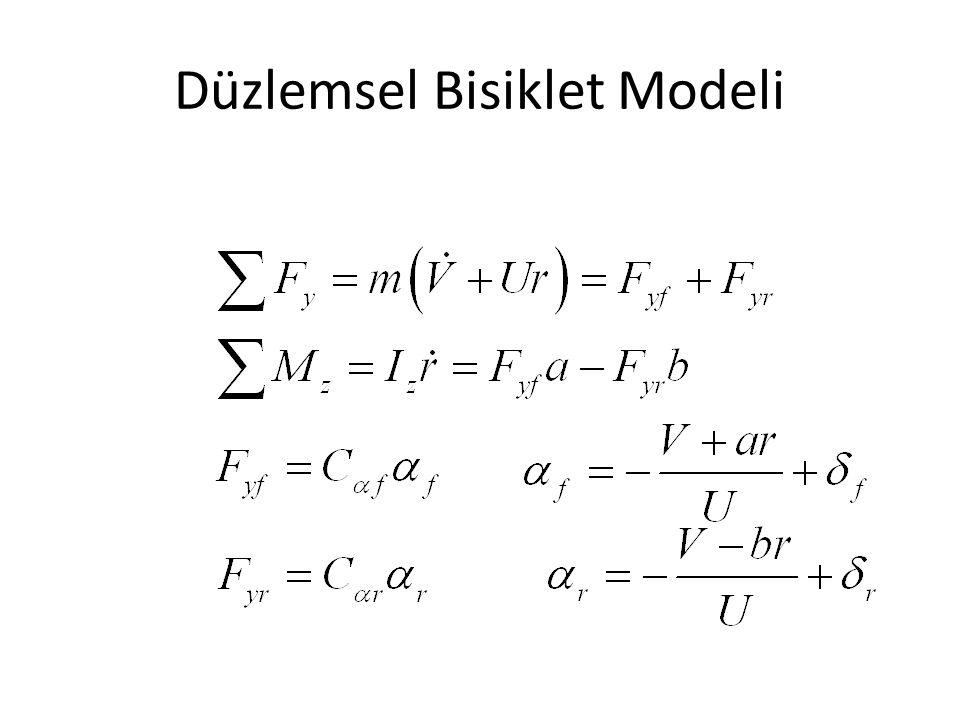 Düzlemsel Bisiklet Modeli