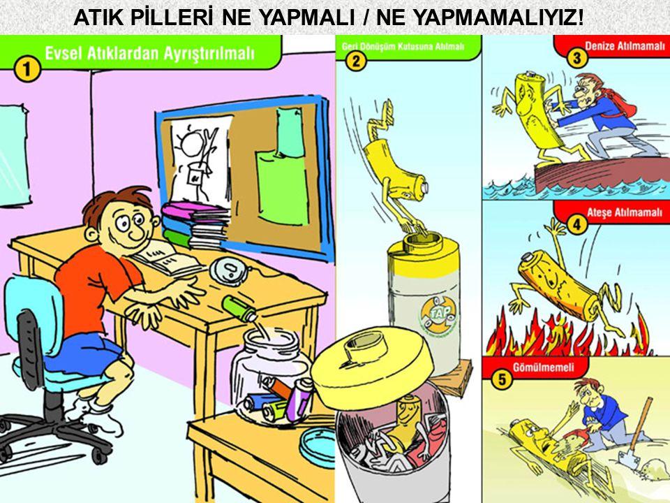 23 ATIK PİLLERİ NE YAPMALI / NE YAPMAMALIYIZ!