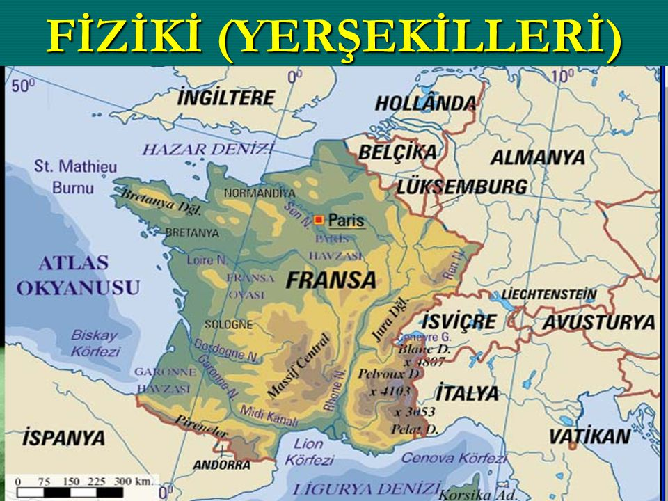 FİZİKİ (YERŞEKİLLERİ)