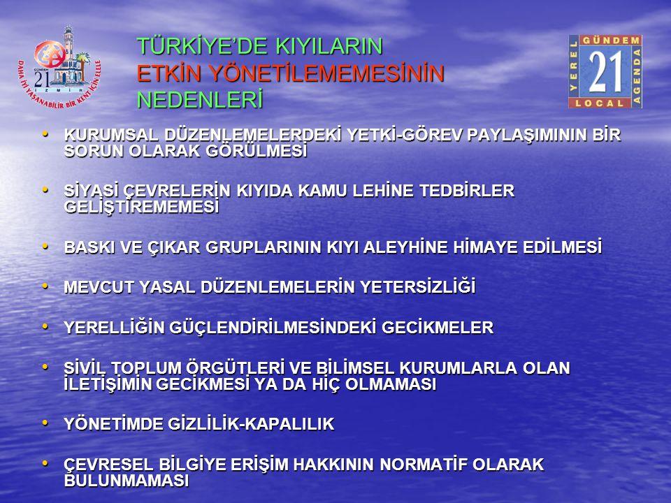 Toplantının ortak görüşü-III İzmir için bir bilgi sisteminin oluşturulması İBKBY'nin hayati önem taşıyan unsurudur.