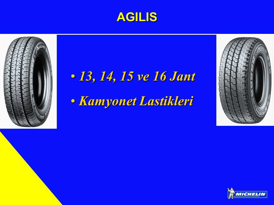 AGILIS 13, 14, 15 ve 16 Jant 13, 14, 15 ve 16 Jant Kamyonet Lastikleri Kamyonet Lastikleri