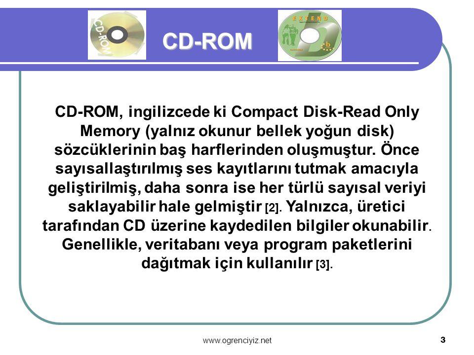 2 OPTİK DİSKLER OPTİK DİSKLER İlk optik disk türü olarak Laser Video Disc'ler 60'lı yılların sonlarında Philips firması tarafından geliştirildi. LVD v