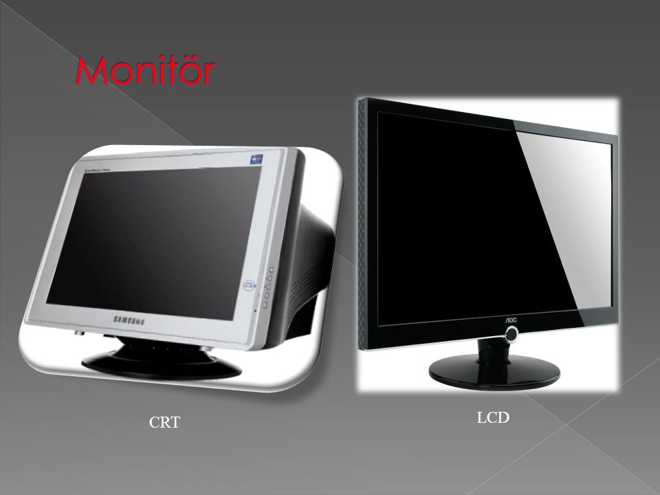 CRT LCD