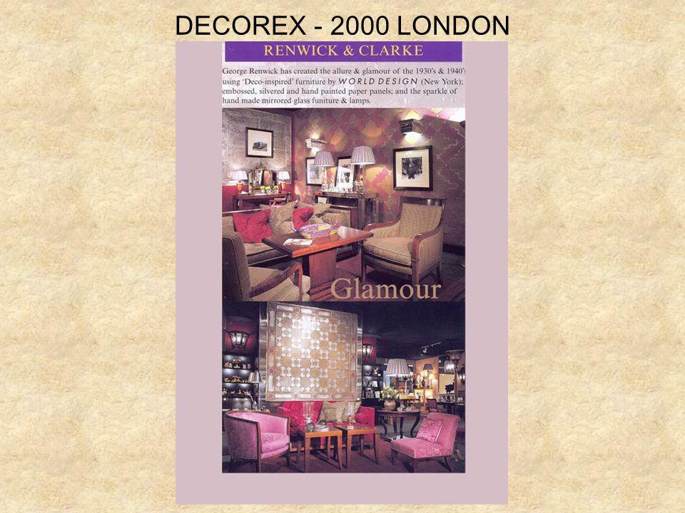DECOREX - 2000 LONDON