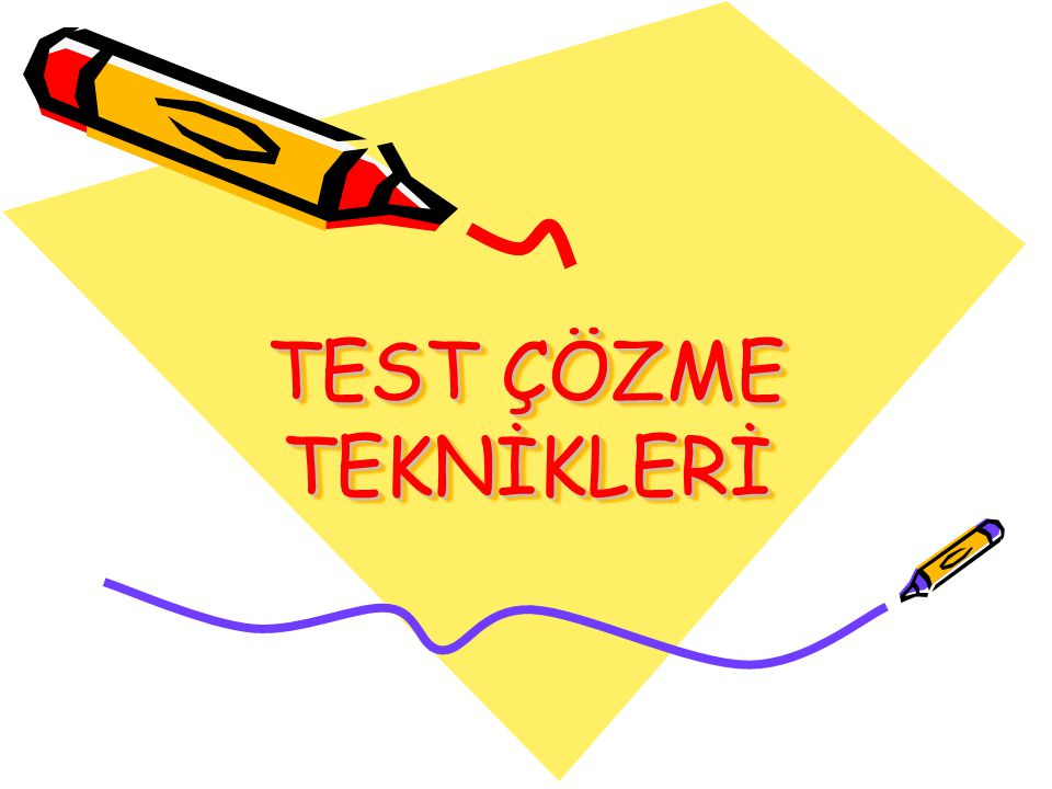 Çözdüğünüz her testte kaydırma,kodlama veya yanlış cevabı işaretleme gibi klasik hatalar yapmamaya özen gösteriniz.
