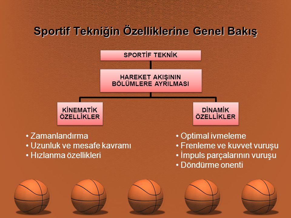 Taktik Uygulama Aşamaları  Sportif performans, kondisyonel teknik ve taktik bileşene bağlı olarak şekillenir.