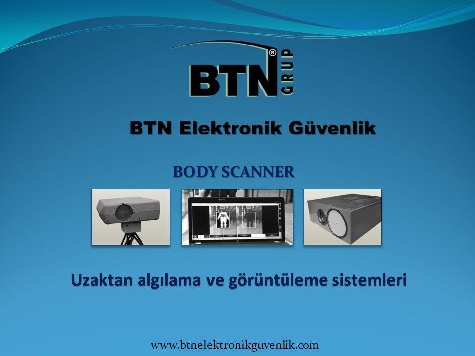 BTN Elektronik Güvenlik BODY SCANNER www.btnelektronikguvenlik.com