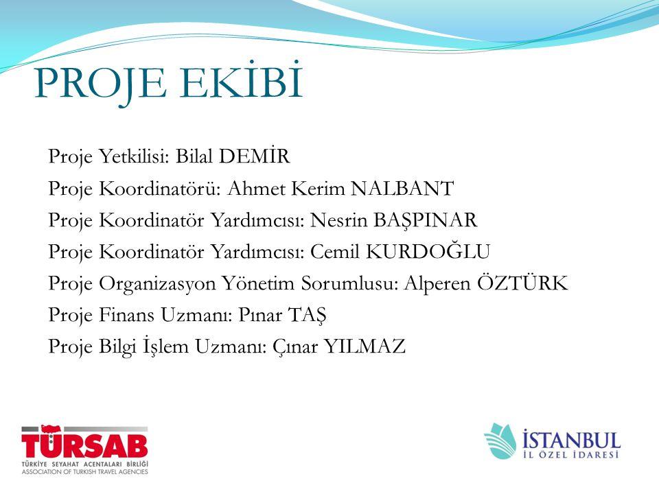 PROJE TANITIMI Referans numarası : İSTKA/2012/KTM/12 Genel Amaç : Turizm Sektörünün yeni teknoloji ve tanıtım materyalleri ile geliştirilmesini sağlayarak, İstanbul'un turizm konusundaki gelişimine katkı sağlamak ve İstanbul'un küresel ve turizm cazibe bölgesi olmasını sağlamak.