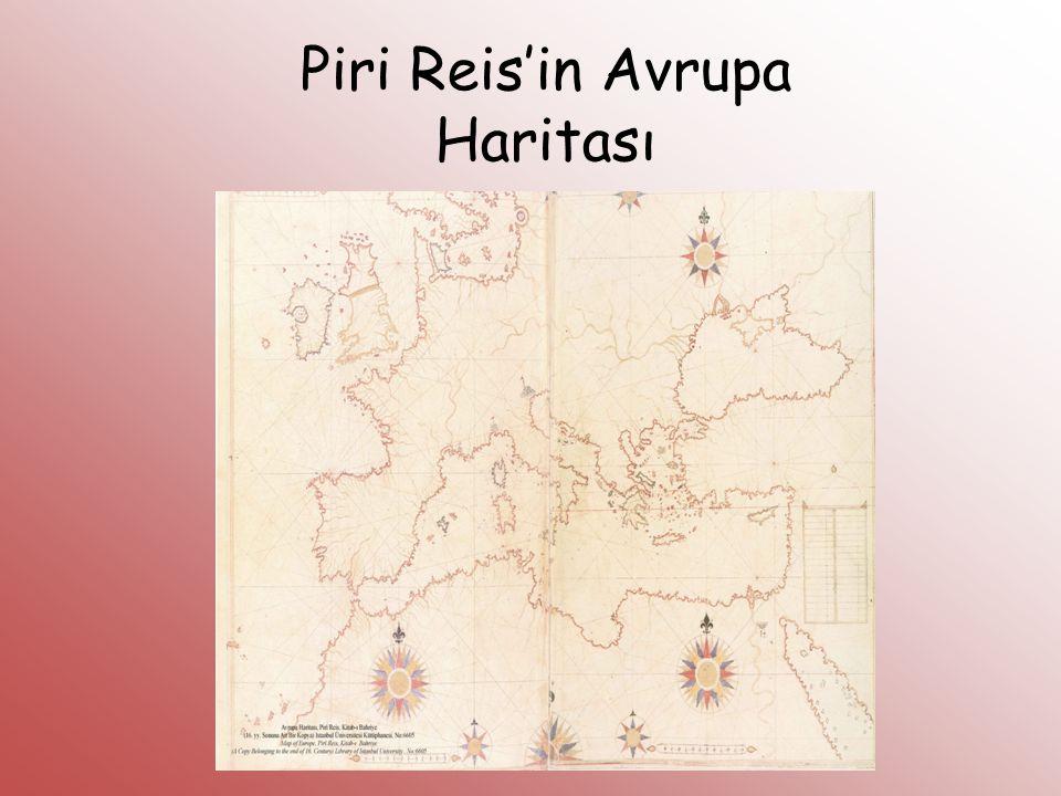 Piri Reis'in Avrupa Haritası