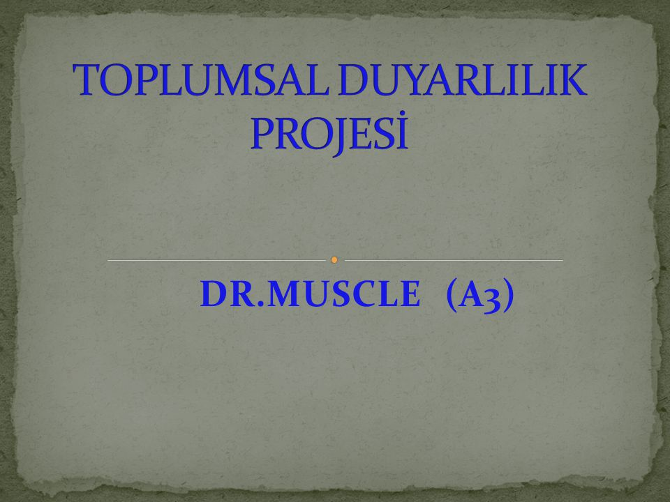 DR.MUSCLE (A3)