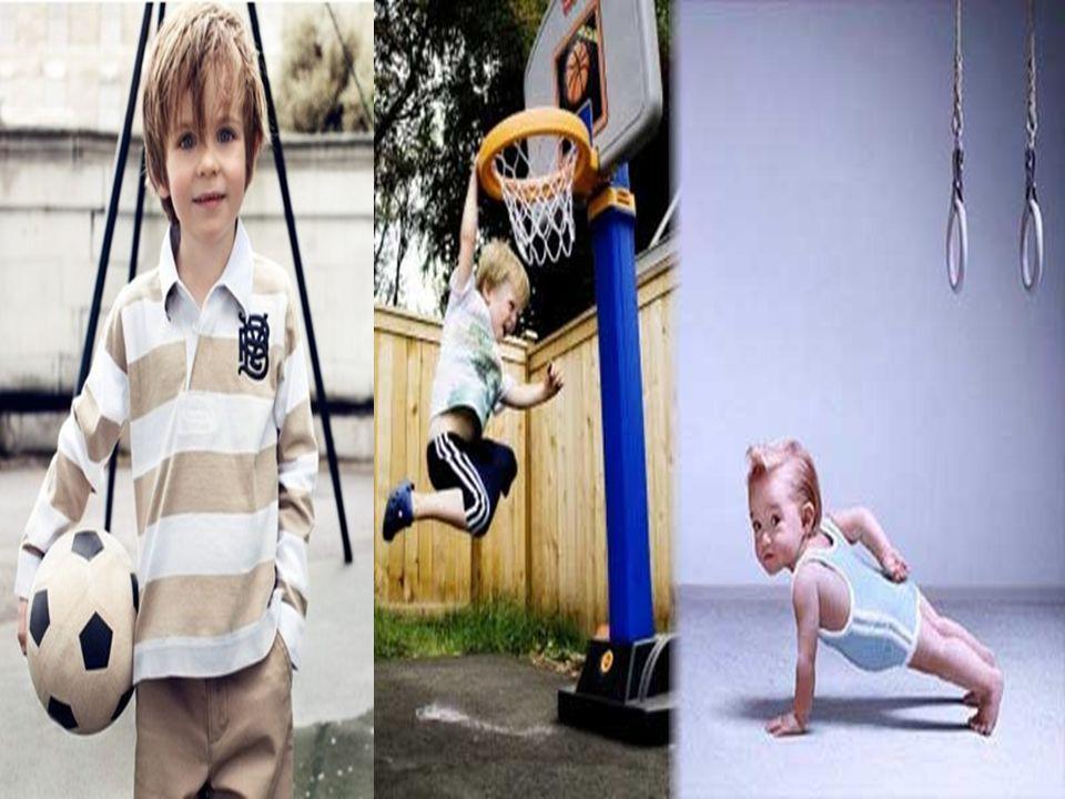 Çocuk ve gençlerin sa ğ lıklı büyüyebilmesi için spor yapması gereklidir.