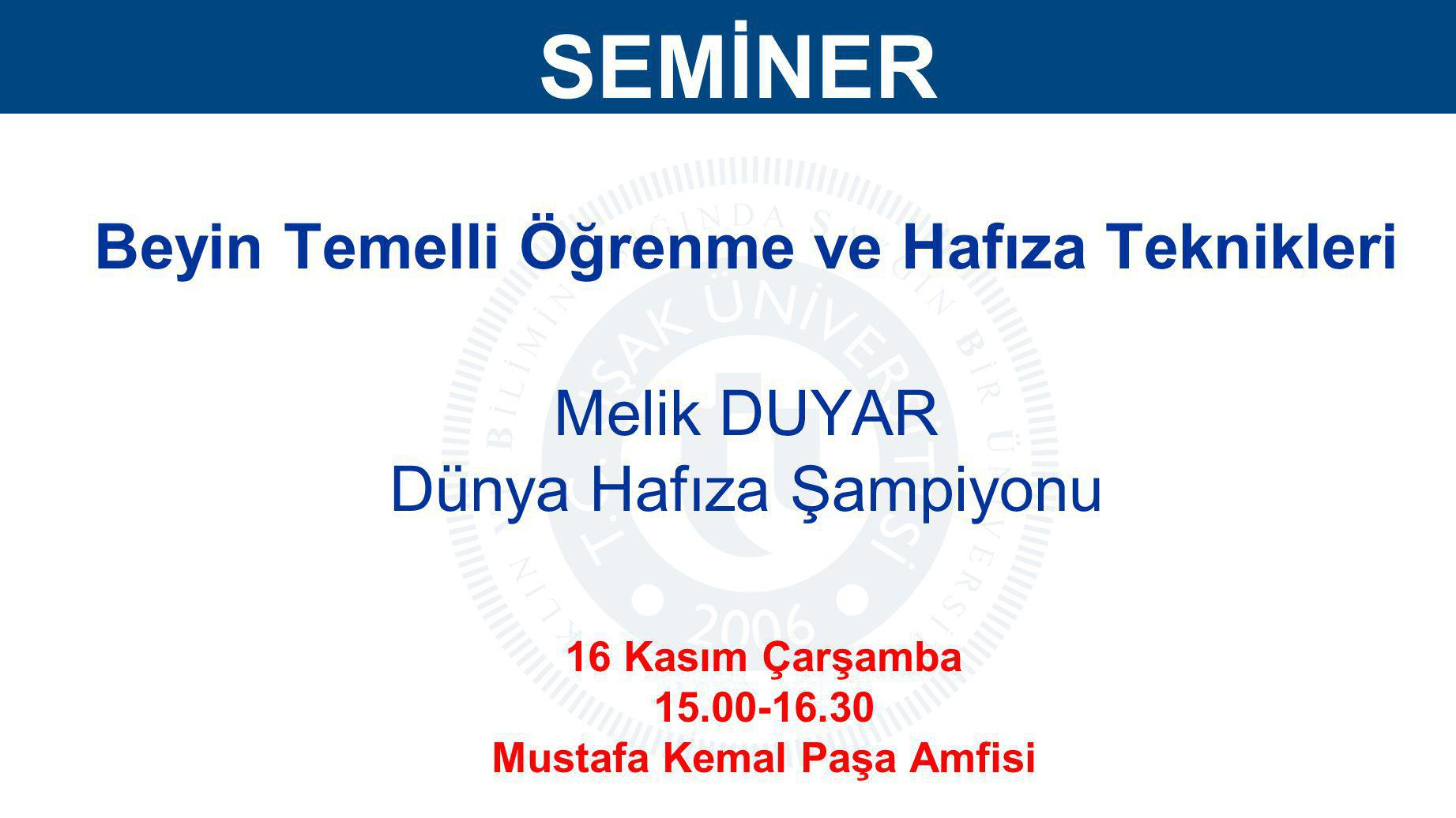 DUYURU Okul Takımı Seçmeleri Futbol okul takımı seçmeleri 16.11.2011 Çarşamba günü saat 13.00 da Kalfa Korusu Futbol Sahasında yapılacaktır.