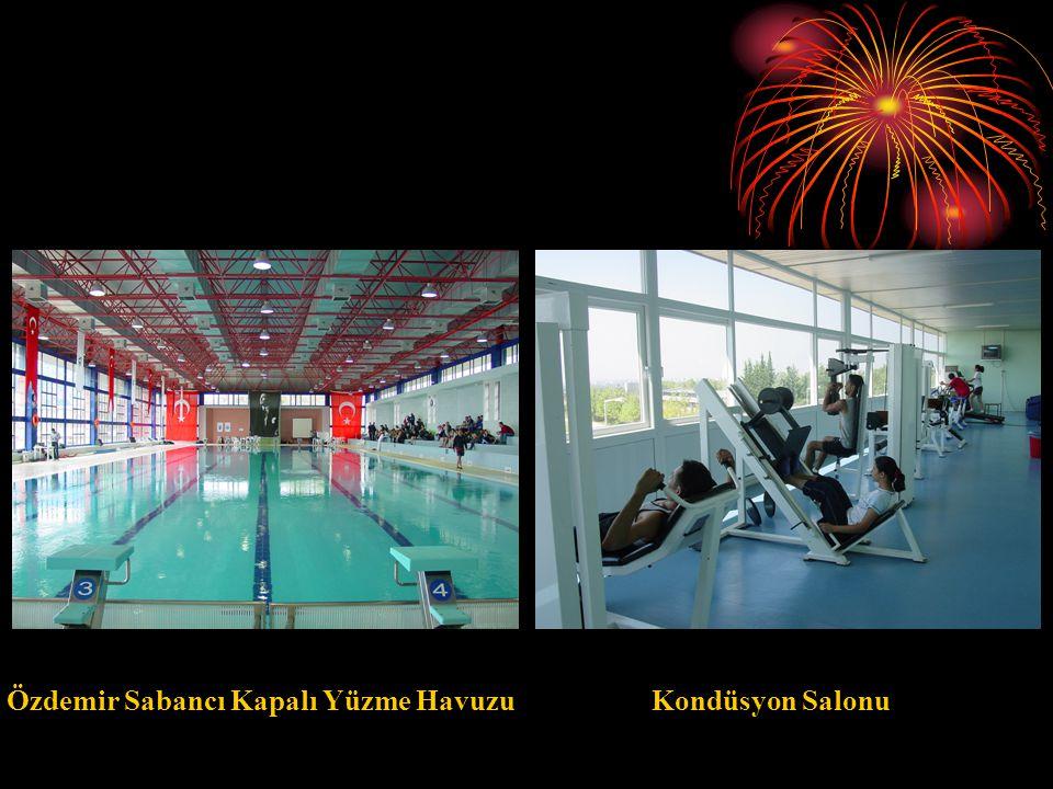 Spor Tesislerimiz Lütfullah Aksungur Spor Salonu Sakıp Sabancı Spor ve Sergi Sarayı