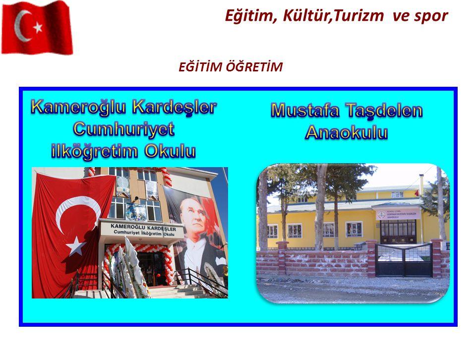 EĞİTİM ÖĞRETİM Eğitim, Kültür,Turizm ve spor