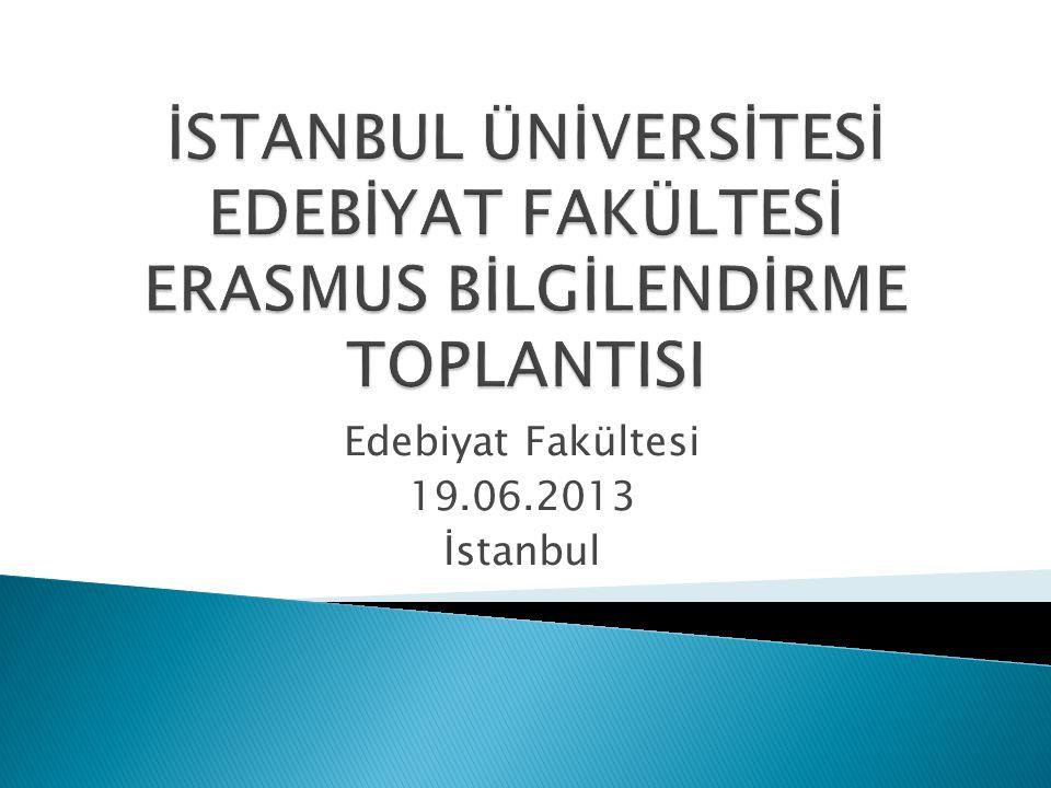  Erasmus Koordinatörleri  gidip dönen Erasmus öğrencisinin fakültede ders denkliğinin yapılması (Dilekçe+Öğrenim gördüğü üniversiteden aldığı not döküm belgesi ile birlikte)