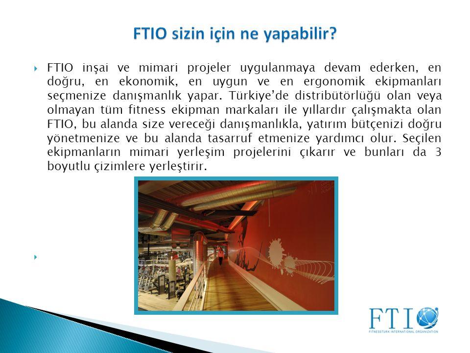  FTIO inşai ve mimari projeler uygulanmaya devam ederken, en doğru, en ekonomik, en uygun ve en ergonomik ekipmanları seçmenize danışmanlık yapar.