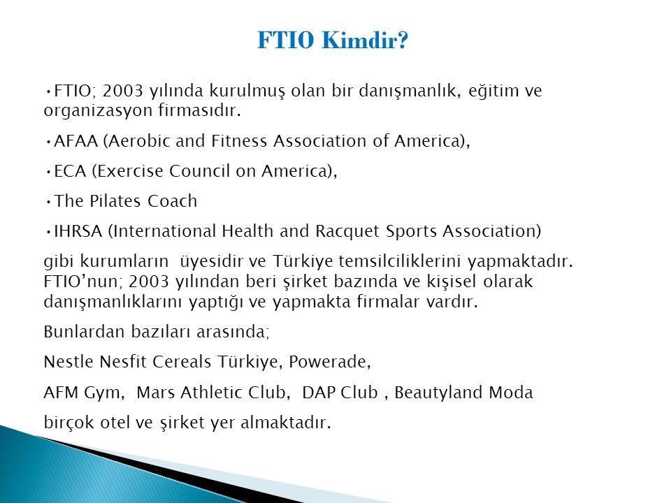 FTIO; 2003 yılında kurulmuş olan bir danışmanlık, eğitim ve organizasyon firmasıdır.