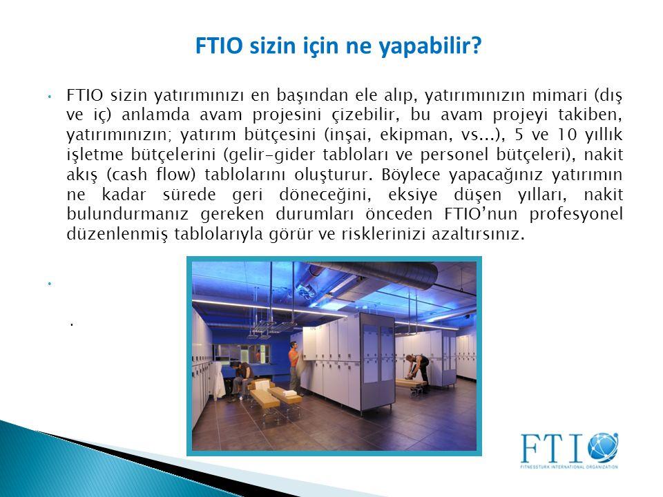 FTIO sizin için ne yapabilir.