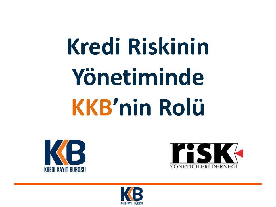 Kredi Riskinin Yönetiminde KKB'nin Rolü