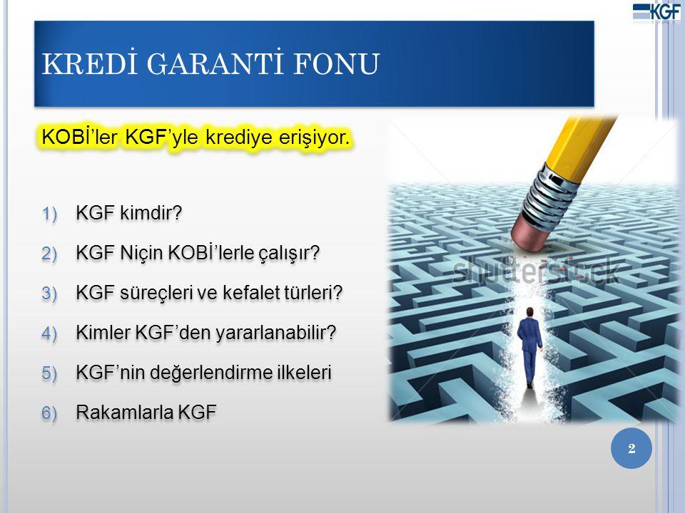 KGF KİMDİR.