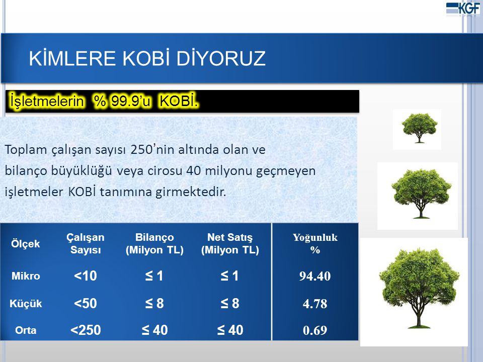 KOBİ KREDİLERİ VE KGF KEFALETLERİ 19 Milyon TL201120122013 Bankacılık sektörü682.893794.7561.009.956 KOBİ kredileri162.803198.406262.933 KGF kefaleti ile yaratılan kredi hacmi 1.8482.3752.716 KGF kefaleti ile yaratılan kredi hacminin toplam KOBİ kredilerine oranı ( % ) 1,11,21,0 Türkiye'de 11.903 banka şubesi bulunmaktadır.