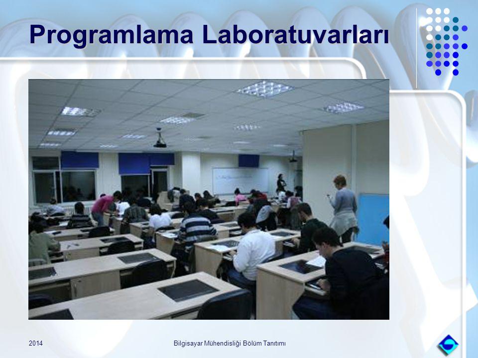 2014Bilgisayar Mühendisliği Bölüm Tanıtımı Programlama Laboratuvarları