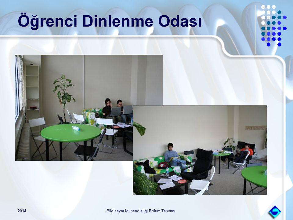 2014Bilgisayar Mühendisliği Bölüm Tanıtımı Öğrenci Dinlenme Odası
