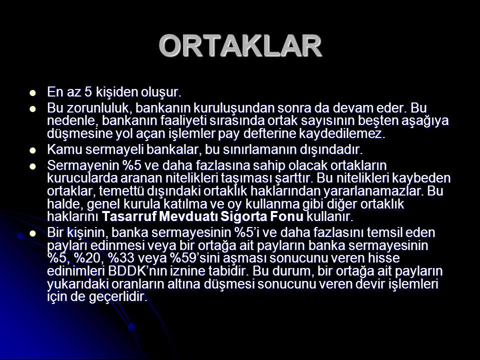Türkiye'de kurulacak bankaların ödenmiş sermayesinin 20 trilyon liradan az olmaması gereklidir.