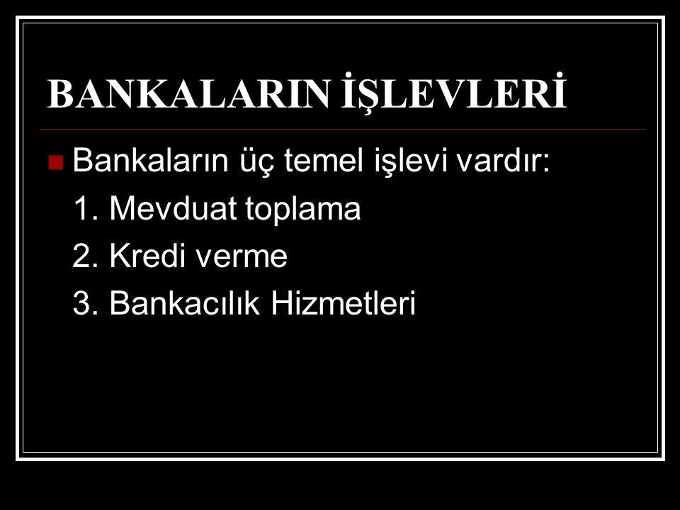 TARİHİ GELİŞİMİ Eski çağlarda, bankacılık alanındaki ilk yasal düzenlemelere, M.Ö.