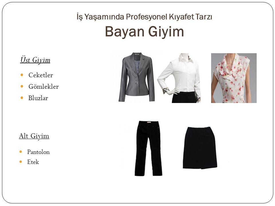 İş Yaşamında Profesyonel Kıyafet Tarzı Bayan Giyim Alt Giyim Pantolon Etek Üst Giyim Ceketler Gömlekler Bluzlar