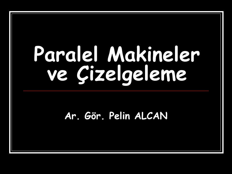 Paralel Makineler ve Çizelgeleme Ar. Gör. Pelin ALCAN