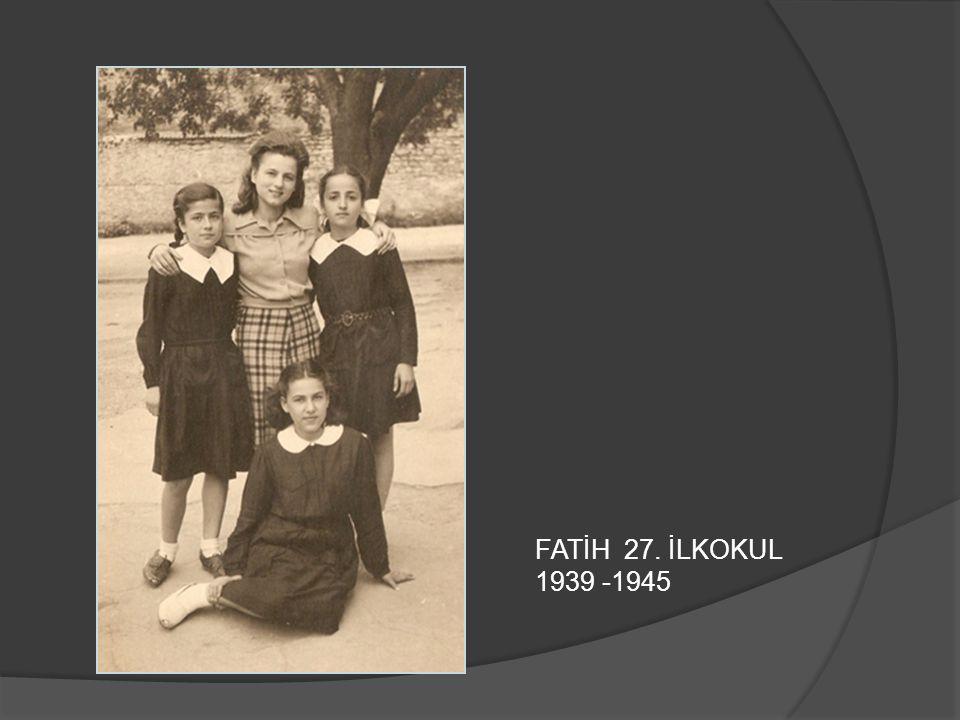 VEFA LİSESİ 1948 - 1951
