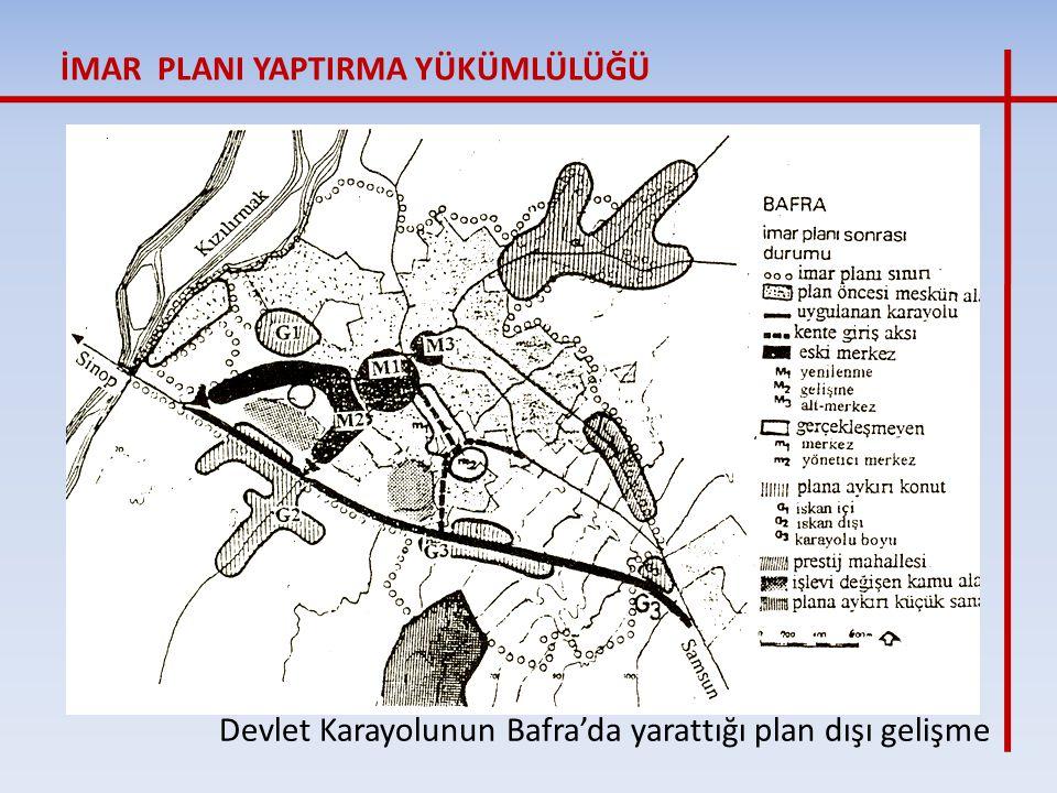 Devlet Karayolunun Bafra'da yarattığı plan dışı gelişme