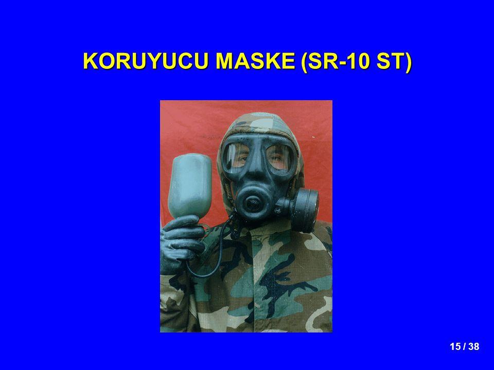 15 / 38 KORUYUCU MASKE (SR-10 ST)