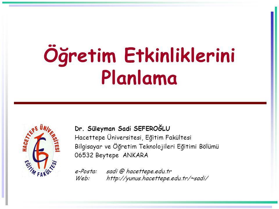 -21- Kaynakça  Bilen, M.(1999). Plandan uygulamaya öğretim.