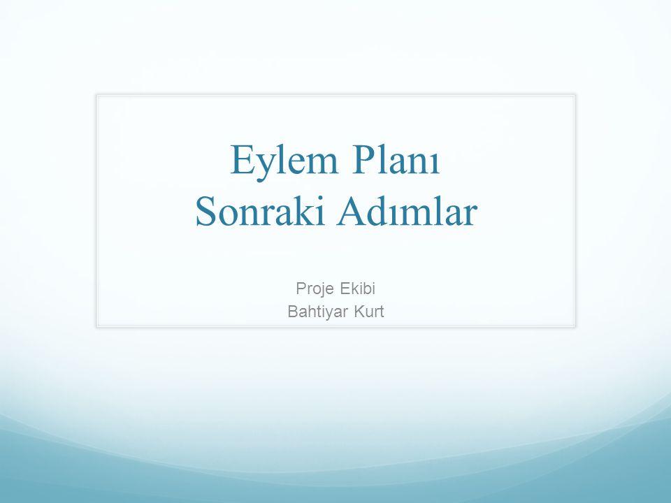 Yeni proje Türkiye'nin Ulusal Eylem Planının UNCCD 10 Yıllık Stratejisine ve Raporlama Sürecine Uyumlaştırılması.