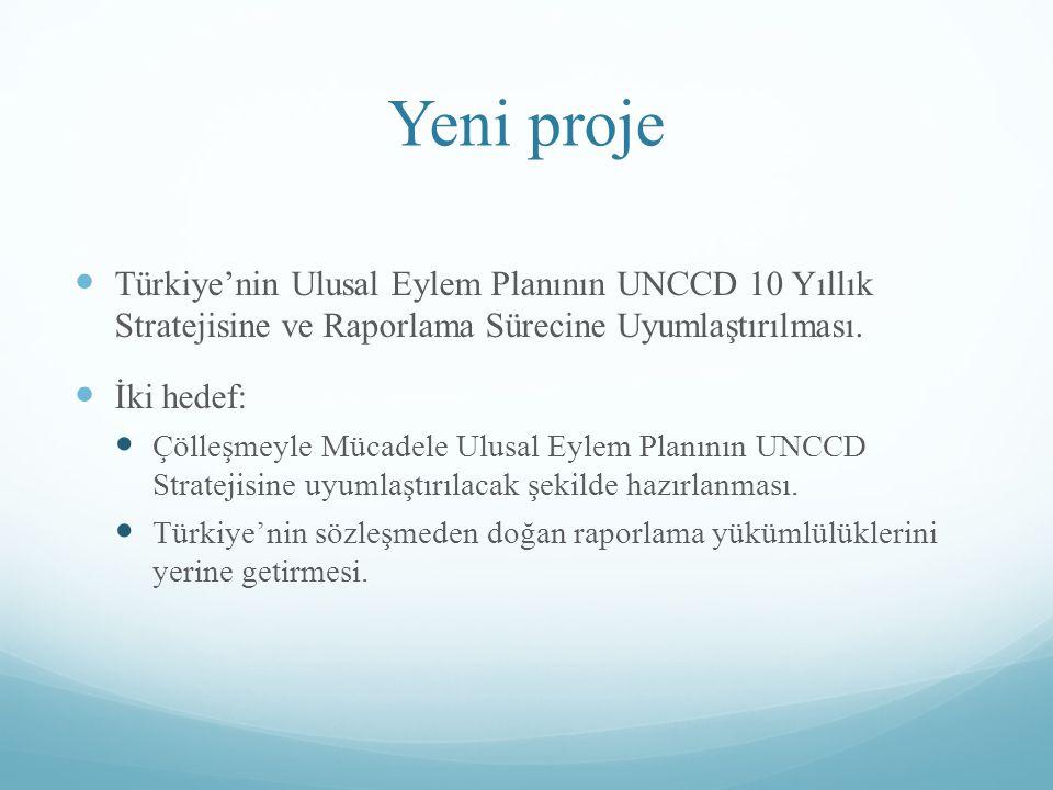 Temel İlkeler Ulusal Çölleşme ile Mücadele Stratejisine (2013) Uyum 1.