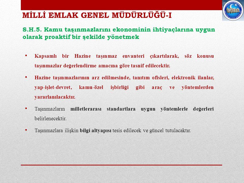 MİLLİ EMLAK GENEL MÜDÜRLÜĞÜ-II S.H.5.
