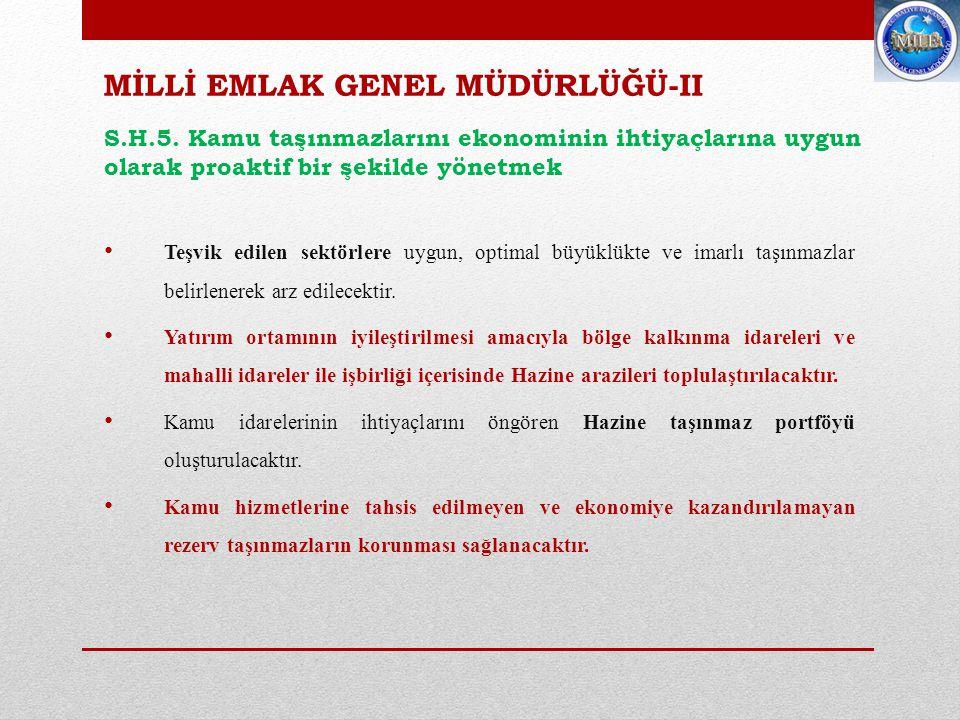 VERGİ DENETİM KURULU BAŞKANLIĞI GELİR POLİTİKALARI GENEL MÜDÜRLÜĞÜ S.H.6.