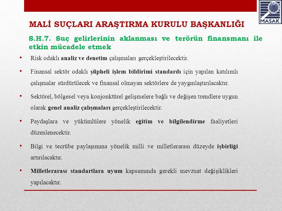 BAŞHUKUK MÜŞAVİRLİĞİ VE MUHAKEMAT GENEL MÜDÜRLÜĞÜ S.H.8.