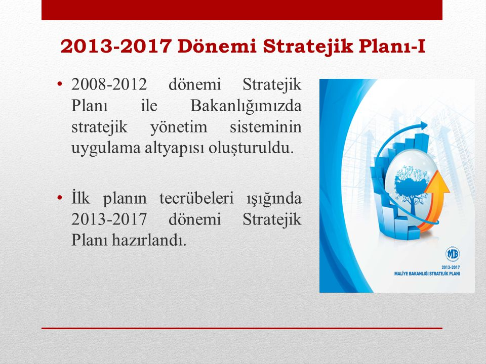 2013-2017 Dönemi Stratejik Planı-II Katılımcılık esas alınmıştır.