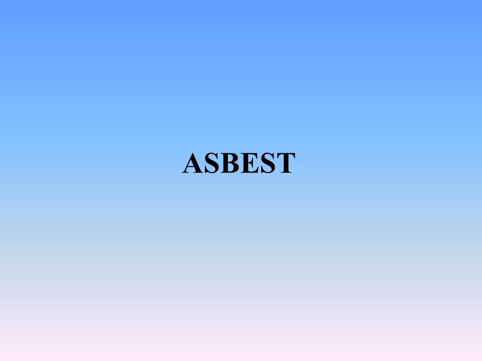 SORULAR 2 3 1-Çalışmaya başlamadan önce genel sağlık durumu değerlendirilen Asbestle çalışacak her işçinin daha sonraki sağlık durumlarının değerlendirmesi en az kaç yılda bir tekrarlanması zorunludur 1 5