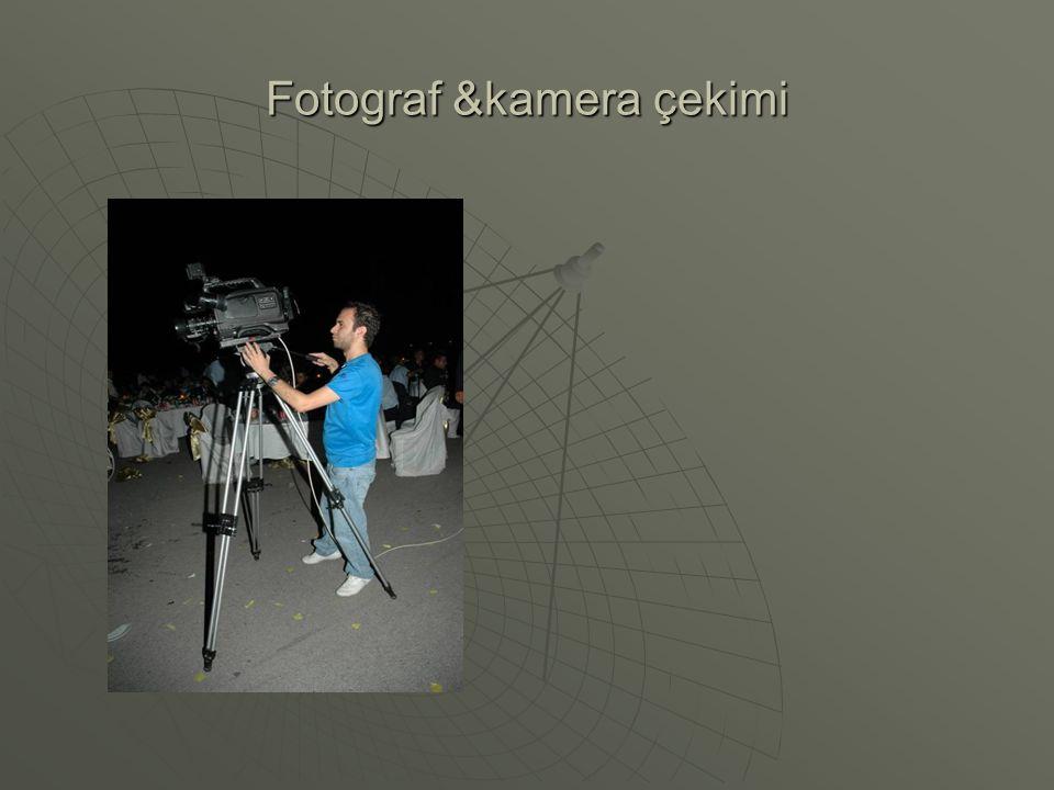 Fotograf &kamera çekimi
